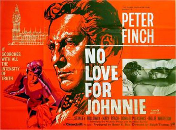 British 60s Cinema No Love For Johnnie