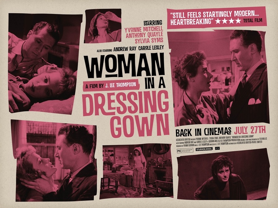British 60s cinema - Woman in a dressing gown