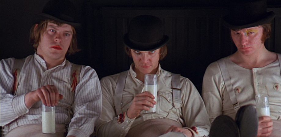 British 60s Cinema A Clockwork Orange